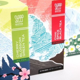 Steep Mountain Tea Blends